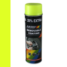 Motip Removable Coating Fluor Geel 500 ml