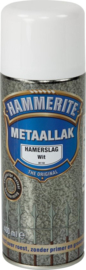Hammerite Hamerslag Wit H110 Spuitbus 400 ml