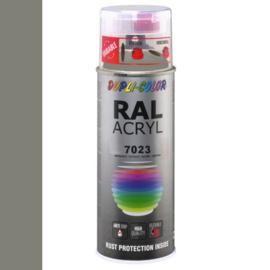 Dupli-Color Ral Acryl Ral 7023 Beton grijs Hoogglans 400 ml