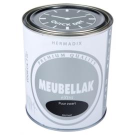 Hermadix Meubbellak Extra Puur Zwart Krijtmat 750 ml