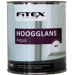 Fitex Hoogglans Aqua lak 1 liter