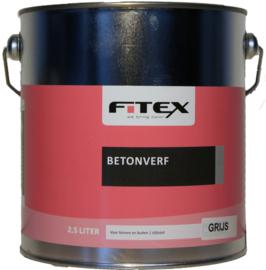 Fitex Betonverf Wit 2,5 liter