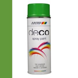 Motip Deco Paint Ral 6018 Geelgroen Hoogglans 400 ml