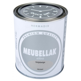 Hermadix Meubbellak Extra Grijsbeige Krijtmat 750 ml