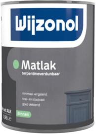 Wijzonol Matlak Binnen Terpentineverdunbaar 500 ml