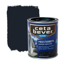 CetaBever Meesterbeits Zijdeglans Bretons Blauw 904 750 ml