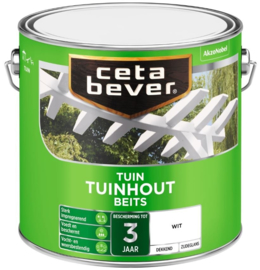 CetaBever Tuinhoutbeits Ral 9001 2,5 liter