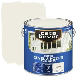 CetaBever Snelbeits Dekkend Ral 9010 Zijdemat 2,5 liter