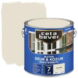 CetaBever Snelbeits Dekkend Ral 9001 Zijdemat 750 ml