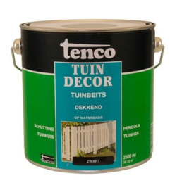 Tenco Tuindecor Dekkend Zwart 2,5 liter
