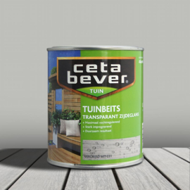 CetaBever Tuinbeits Vergrijsd Wit 031 750 ml