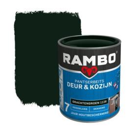 Rambo Pantserbeits Deur en Kozijn Hoogglans Grachtengroen 2,5 liter