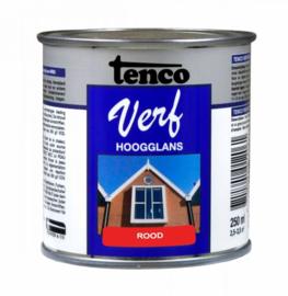 Tenco Verf Wit Ral 9010 Hoogglans 250 ml