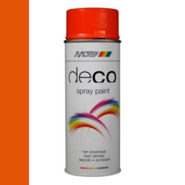 Motip Deco Paint Ral 2004 Helder Oranje Hoogglans 400 ml
