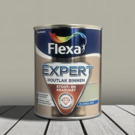 Flexa Expert Houtlak Binnen Zijdeglans Kiezelgroen 750 ml