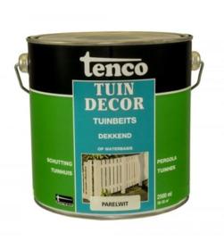Tenco Tuindecor Dekkend Parelwit 2,5 liter