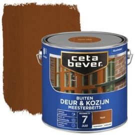 CetaBever Meesterbeits Deur en Kozijn Teak 2,5 liter