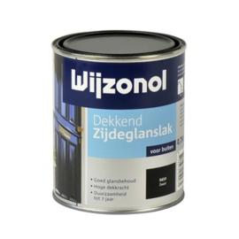 Wijzonol Dekkend Zijdeglans Wit 9104 750 ml