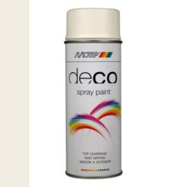 Motip Deco Paint Ral 9010 Helder Wit Hoogglans 400 ml