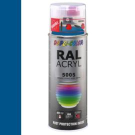 Dupli-Color Ral Acryl Ral 5005 Signaalblauw Hoogglans 400 ml