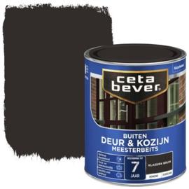CetaBever Meesterbeits Deur en Kozijn Klassiek Bruin 750 ml