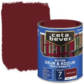 CetaBever Meesterbeits Deur en Kozijn Engels Rood 750 ml