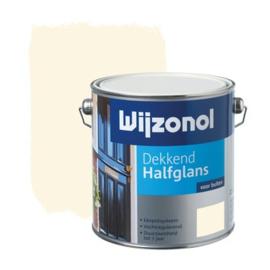 Wijzonol Dekkend Halfglans Ral 9001 2,5 liter