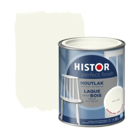 Histor Houtlak Hoogglans Ral 9001 1,25 liter