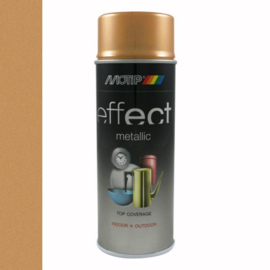 Motip Deco Effect Metallic Antiek Goud 400 ml