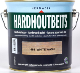Hermadix Hardhoutbeits White Wash 464 2,5 liter
