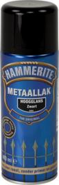 Hammerite Hoogglans Zwart S060 Spuitbus 400 ml