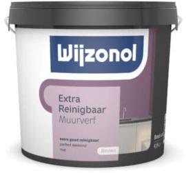 Wijzonol Muurverf Extra Reinigbaar 1 liter