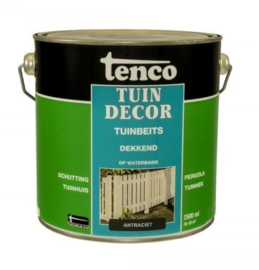 Tenco Tuindecor Dekkend Antraciet 2,5 liter