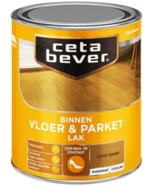 CetaBever Vloer en Parketlak Zijdeglans Licht Eiken 750 ml