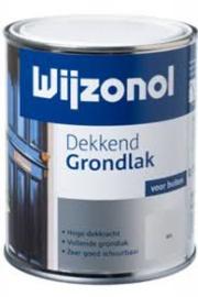 Wijzonol Dekkend Grondlak Wit 2,5 liter