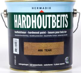 Hermadix Hardhoutbeits Teak 466 2,5 liter