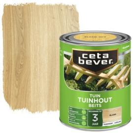 CetaBever Tuinhoutbeits Blank 2,5 liter