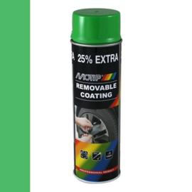 Motip Removable Coating Groen 500 ml