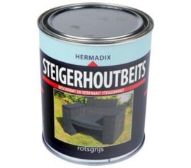 Hermadix Steigerhoutbeits Rotsgrijs 750 ml