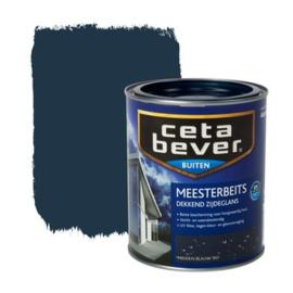 CetaBever Meesterbeits Zijdeglans Midden Blauw 907 750 ml