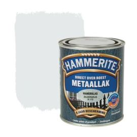 Hammerite Metaallak Zilvergrijs H115 Hamerslag 250 ml