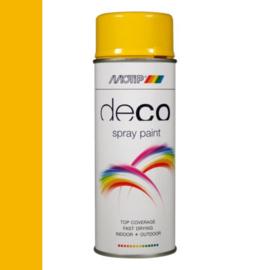 Motip Deco Paint Ral 1021 Koolzaad Geel Hoogglans 400 ml