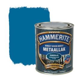 Hammerite Metaallak Donkerblauw H128 Hamerslag 250 ml