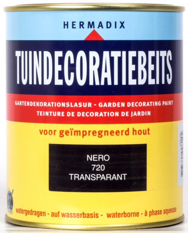Hermadix Tuindecoratiebeits Transparant Nero 720 750 ml