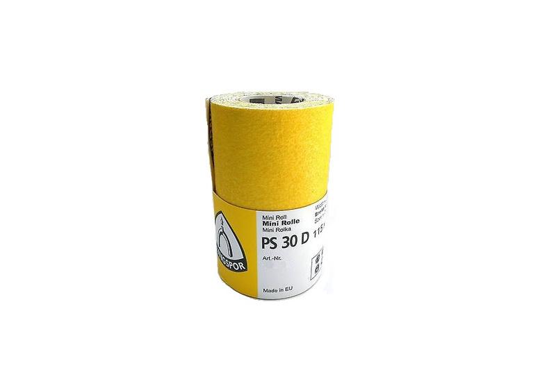 Klingspor Schuurpapier Rol PS30 115mm x 25 Meter