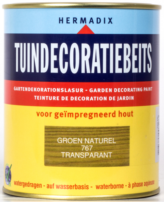 Hermadix Tuindecoratiebeits Transparant Groen Naturel 767 750 ml