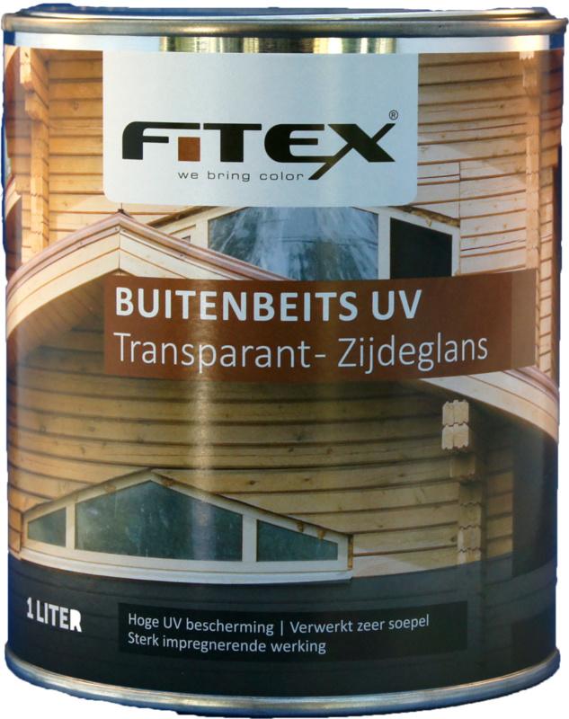 Fitex Buitenbeits UV Transparant Zijdeglans 2,5 liter