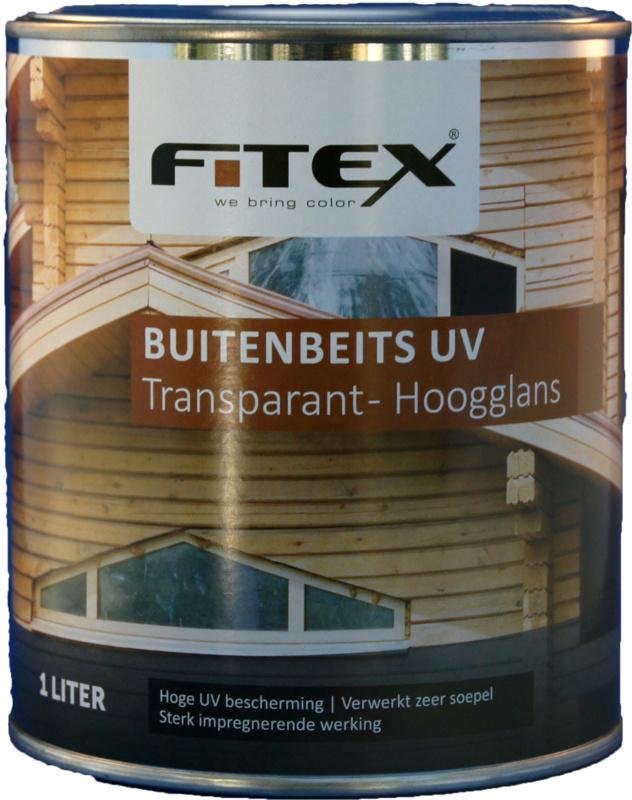 Fitex Buitenbeits UV Transparant Hoogglans 2,5 liter