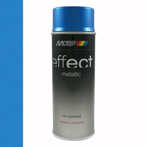 Motip Deco Effect Metallic Blauw 400 ml