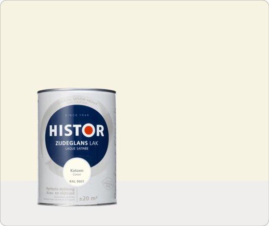 Histor Perfect Finish Ral 9001 Katoen Hoogglans 1,25 liter
